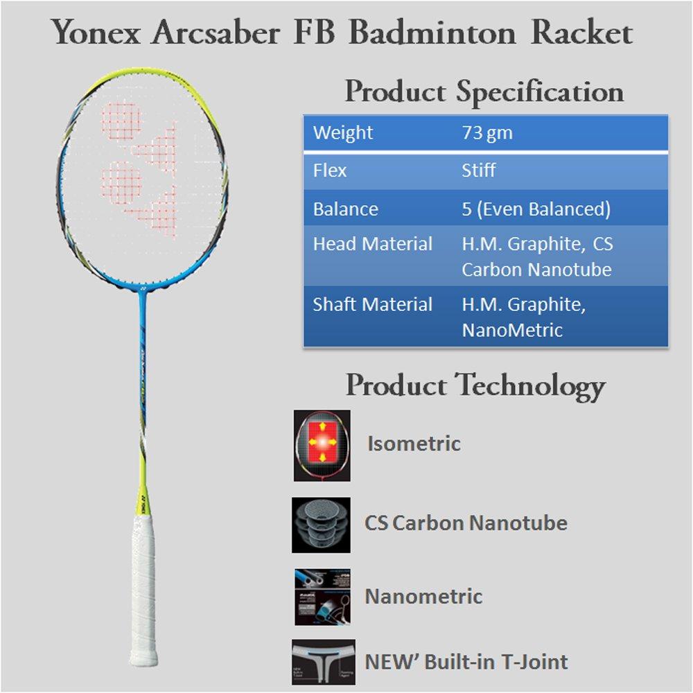 Yonex Badminton Racket Yonex ArcSaber FB