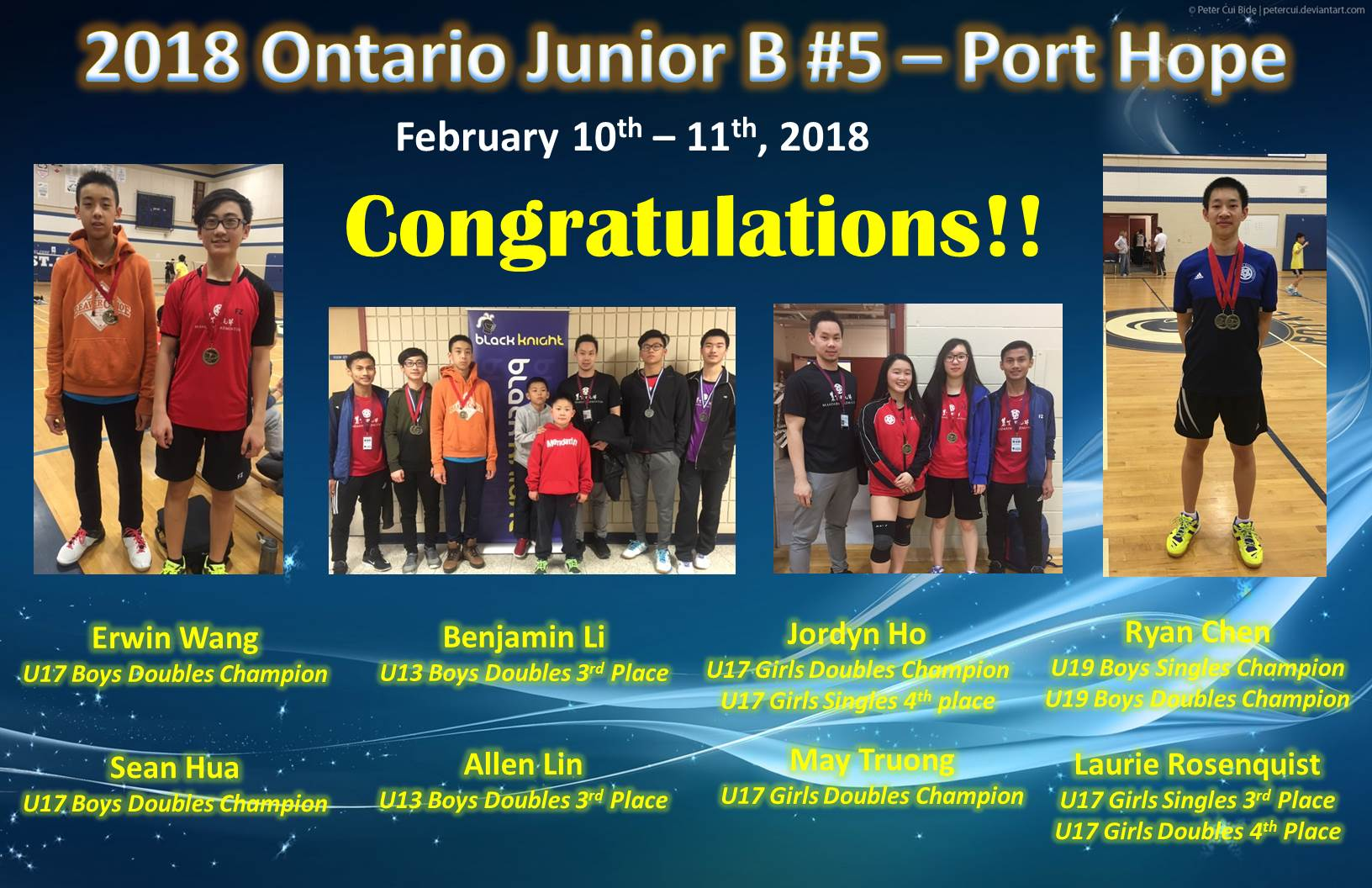 2018 Jr B #5 Port Hope Feb 10-11 revised