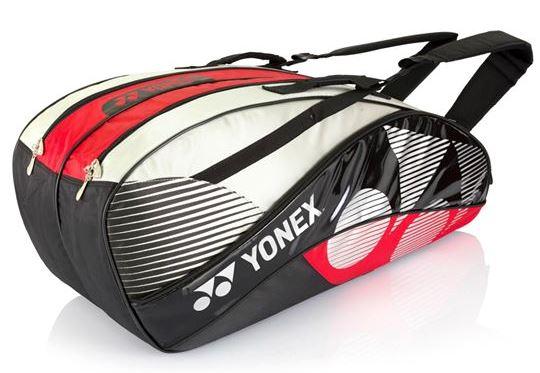 Yonex 1422 BT6 Racquet bag Silver Red