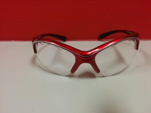 bk goggles $36 red